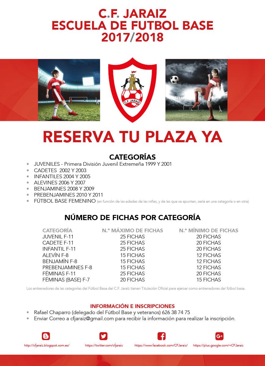 Escuela de Fútbol Base C.F. Jaraíz
