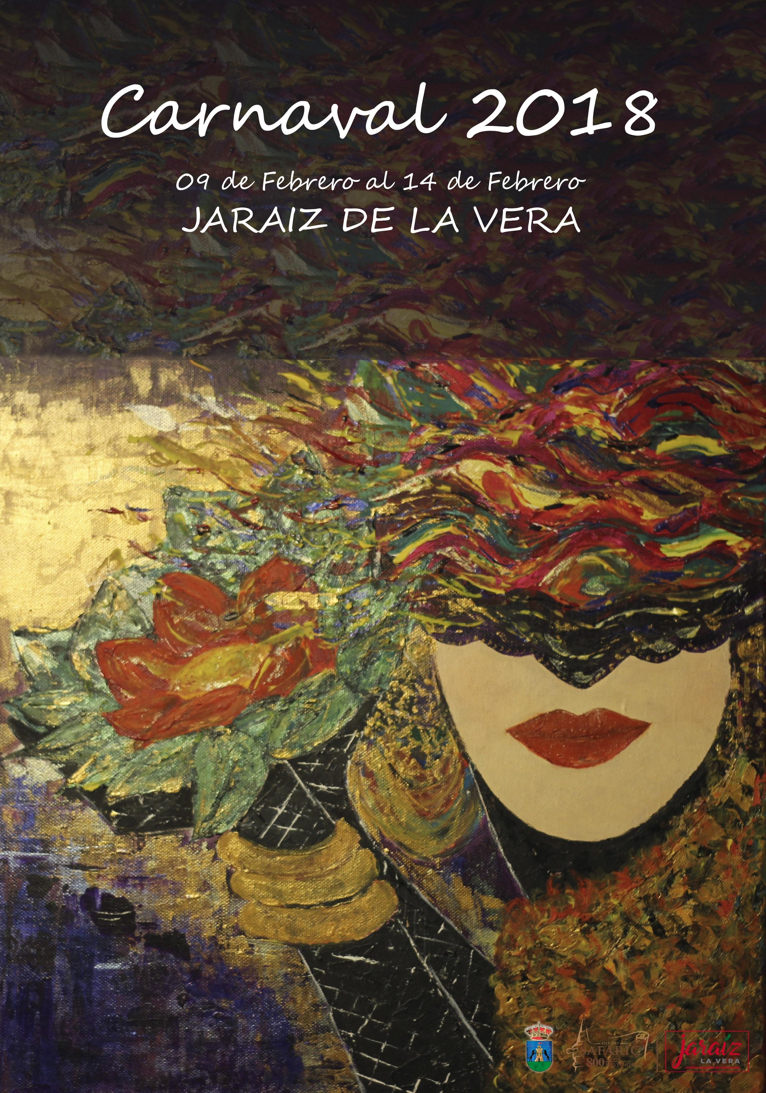 Cartel ganador del Carnaval de Jaraíz de la Vera 2018