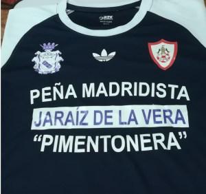 Camiseta oficial Torneo Inter Peñas del Real Madrid