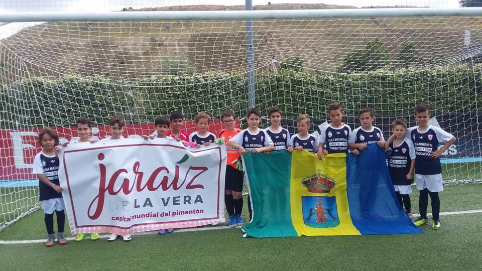 El equipo Jaraiceño de la Factoría Verata del C.F. Jaraíz se clasifica para los octavos de final