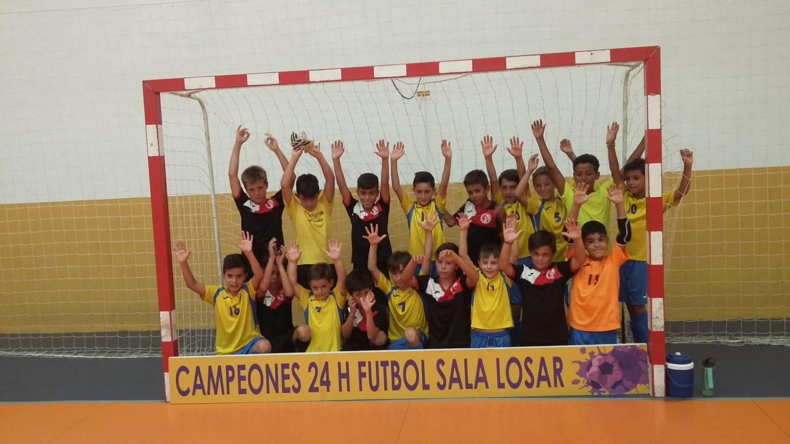 El Sporting C.F. Jaraíz logra un doblete quedando campeón de las 24 horas de Losar y Saucedilla (1)