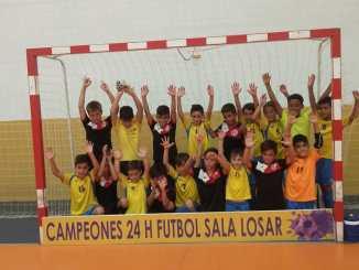El Sporting C.F. Jaraíz logra un doblete quedando campeón de las 24 horas de Losar y Saucedilla