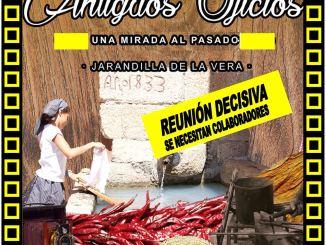 Reunión en la Casa de Cultura de Jarandilla de la Vera, Celebración de los Antiguos Oficios