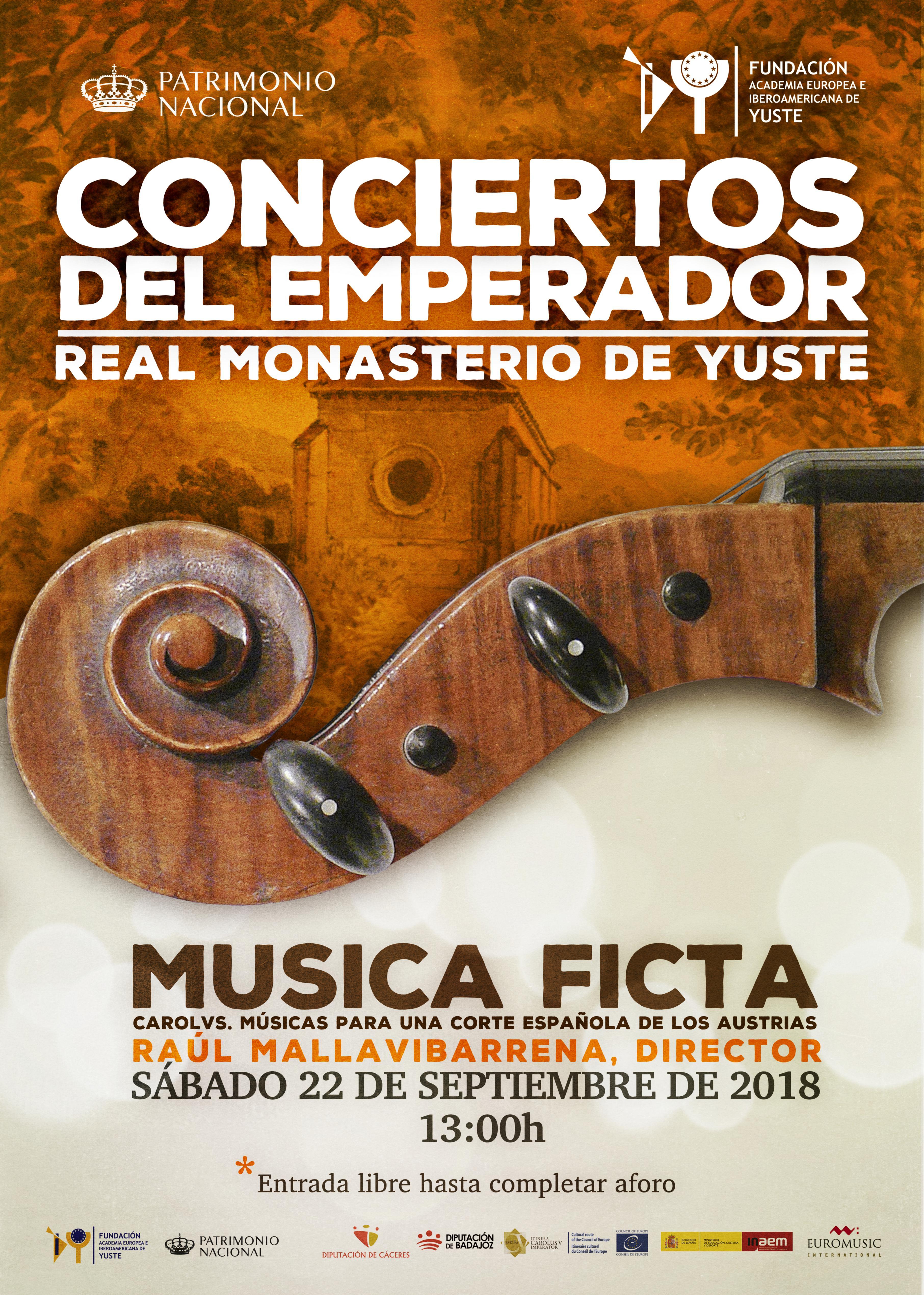 La Fundación Yuste clausura el ciclo de Conciertos del Emperador con el grupo 'Musica Ficta'