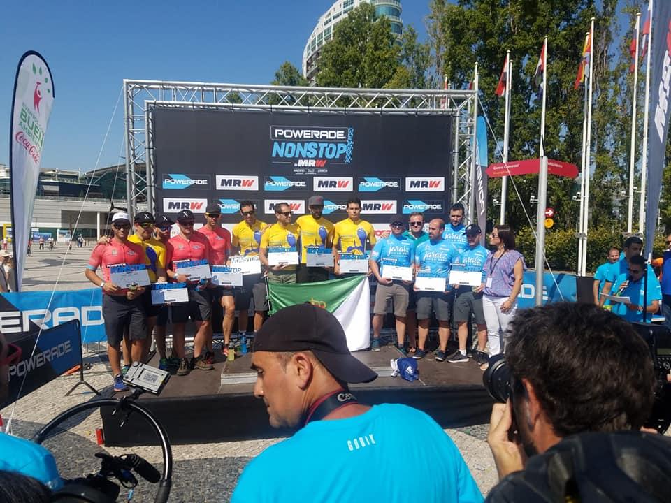 El Team Jaraíz De La Vera Capital Mundial Del Pimentón segundo en la categoría Extremadura de la Power Non Stop Madrid Tajo Internacional Lisboa 2018