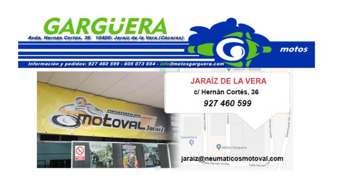 Oferta de Trabajo en Neumáticos Motoval de Jaraíz de la Vera