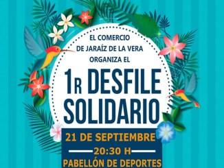 Primer desfile Solidario enmarcado dentro del programa de Dinamización Comercial