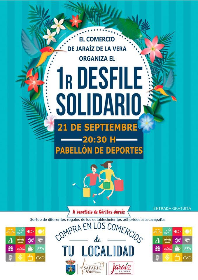 Primer Desfile Solidario Jaraiz De la Vera