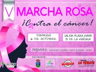 V Marcha Rosa contra el Cáncer el día 6 de octubre del 2019 en Jaraíz de la Vera