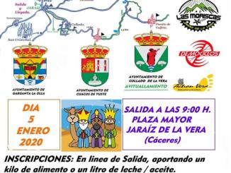 VI Ruta Solidaria de Reyes Magos a beneficio de Cruz Roja