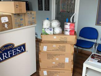 Empresas de Jaraíz de la Vera donan material al Ayuntamiento para afrontar el COVID19