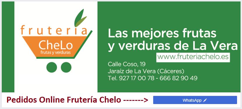 Pedidos Online Fruteria Chelo