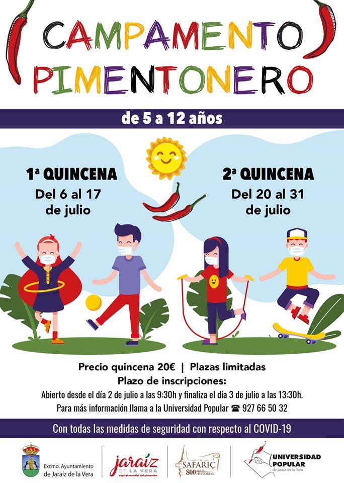 Abierto el plazo de inscripción del Campamento Pimentonero en Jaraíz de la Vera