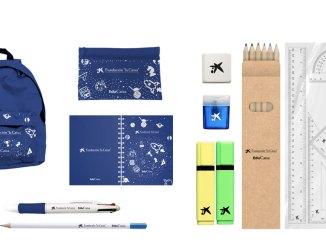 """Entrega de 50 Kits Escolares por la Fundación """"la Caixa"""""""