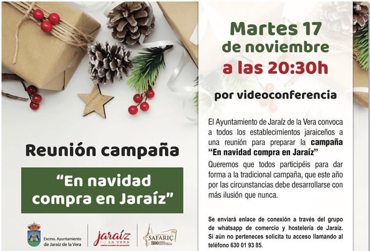 Reunion Campaña – En Navidad compra en Jaraiz