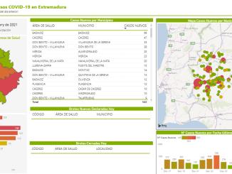 Datos Covid-19 - 01012021 - Extremadura