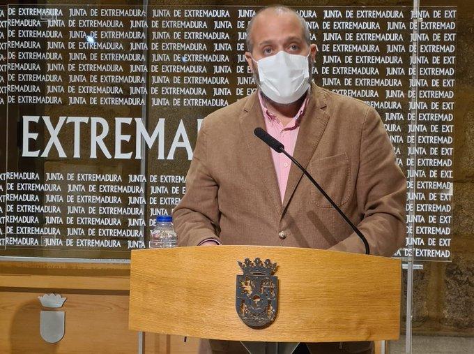 Rafa España, Consejero de Economía, Ciencia y Agenda Digital de la Junta de Extremadura