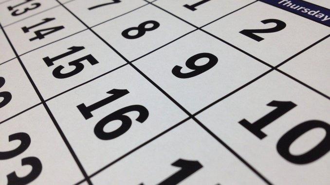 Calendario Laboral de Jaraíz de la Vera. Día locales el martes de Carnaval y un día en la Fiestas del Tabaco y del Pimiento