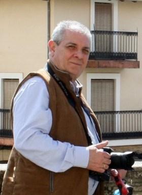 Pedro Laso ejerciendo una de sus pasiones, la fotografía (cedida)