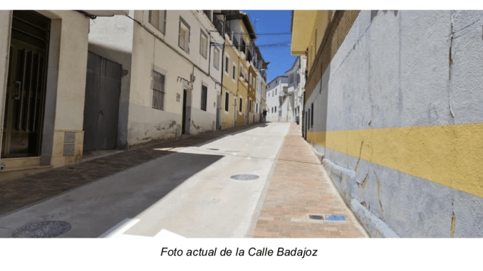 Calle Badajoz