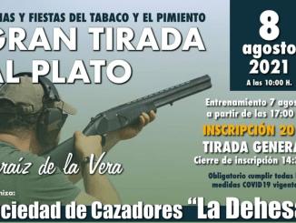 Gran tirada al plato - Jaraiz - Ferias y Fiestas del Tabaco y pimiento 2021