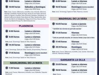 Horario-Autobuses-Jaraiz-de-la-Vera