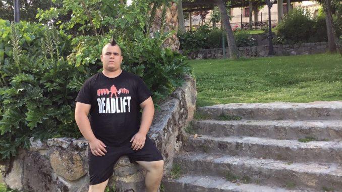 El próximo 24 de junio, el losareño Daniel Castaño comenzará a competir en la Liga Nacional de Fuerza.