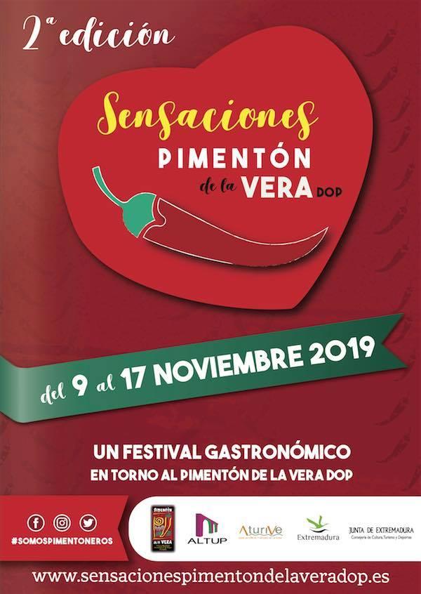 """Presentación Festival """"Sensaciones Pimentón de La vera DOP 2019"""""""
