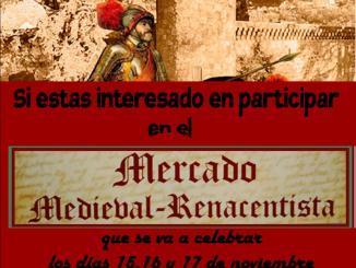 """Mercado Medieval Renacentista 2019. """"Llegada de Carlos V a Jarandilla"""""""