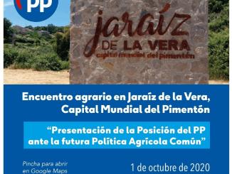 Pablo Casado visita hoy Jaraíz