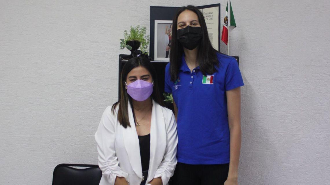 Carolina Lugo reconoce trabajo y esfuerzo de seleccionada nacionalMaría Fernanda Contreras Ayala agradece el respaldo; recién llegada del Mundial de Voleibol