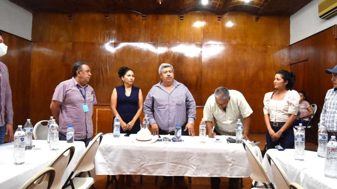 Participa SSPC en instalación del Consejo Municipal de Protección Civil en Tecuala por depresión tropical Dieciséis-E