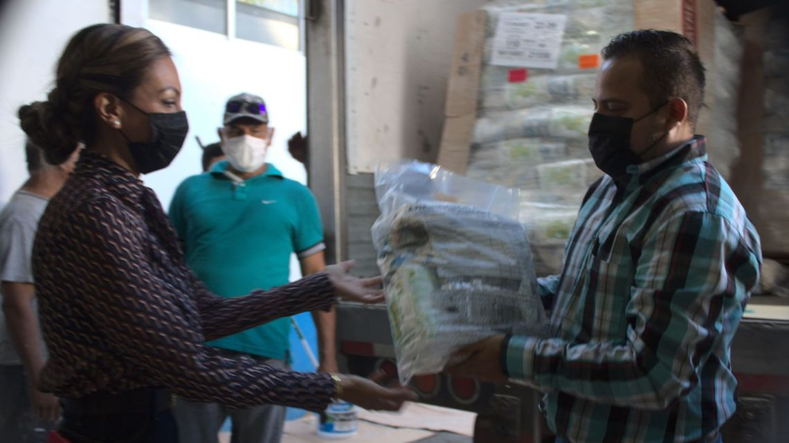 Envía el DIF estatal apoyo alimentario para más de 5 mil familias