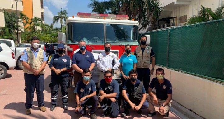Bomberos de Nayarit capacitan en materia de fauna silvestre a personal de seguridad hotelera de Bahía de Banderas.
