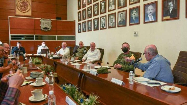 Compromiso permanente velar por la seguridad de los nayaritas, en especial por los damnificados. Miguel Ángel Navarro Quintero.