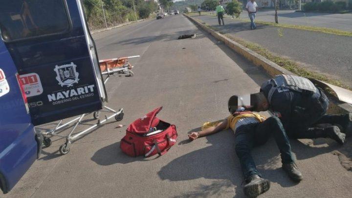 Atiende SSPC a nueve personas que resultaron lesionadas en Tepic
