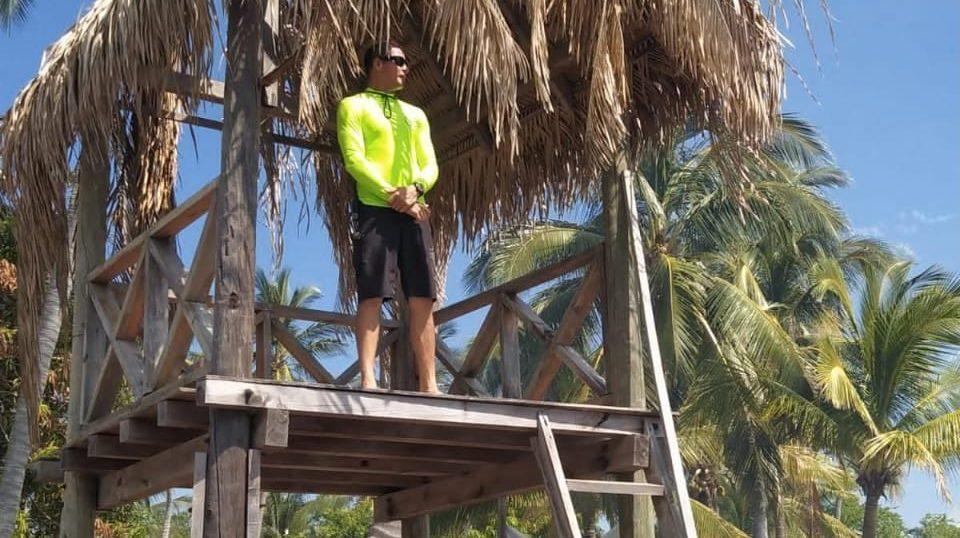 La playa FIBBA y Torre Varadero de Nuevo Vallarta se encuentran con bandera amarilla