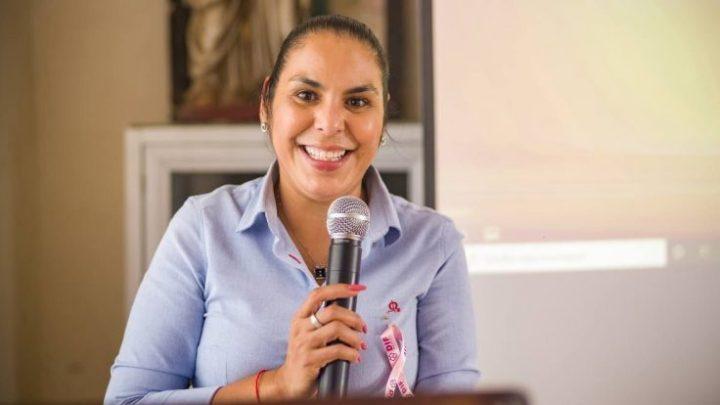 Participa Mirtha Villalvazo en evento por el Día Mundial de la Lucha Contra el Cáncer de Mama