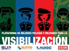 Mujeres Militares y Policías