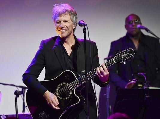 Cantautor Jon Bon Jovi