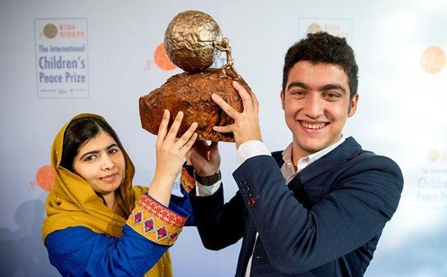 Joven sirio premiado