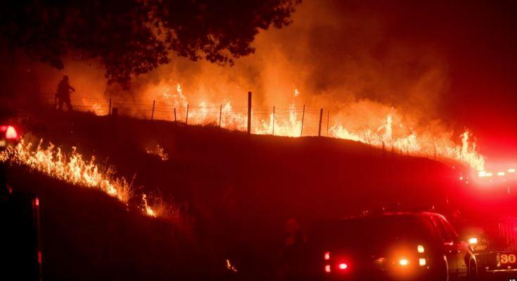 L.A en llamas