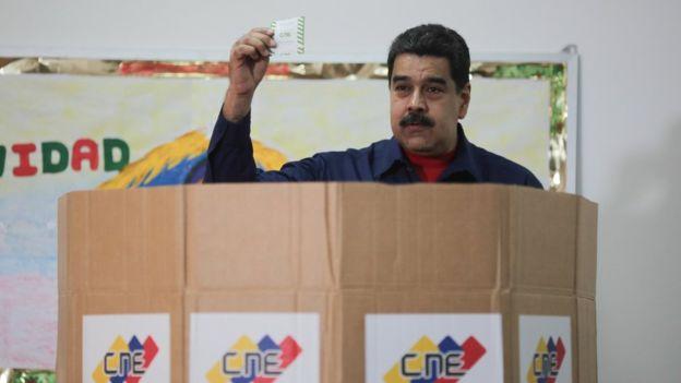 Elecciones Venezuela 2017 Chavismo