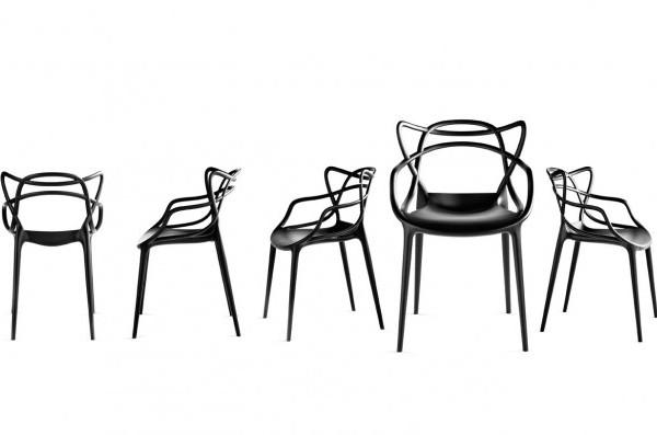 Eames Jacobsen y Saarinen juntos en la silla Masters de