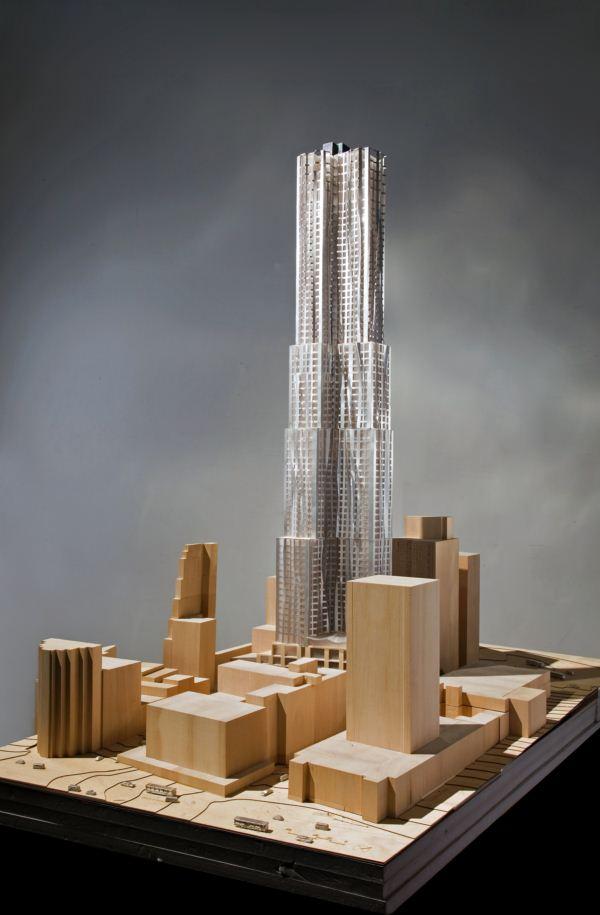 Torre Beekman Frank Gehry cambia el skyline de Nueva York