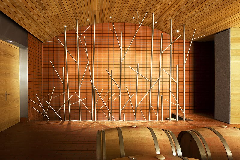 Fernando Salas proyecta la nueva sala de barricas para el vino de referencia de VegaSicilia  diariodesigncom