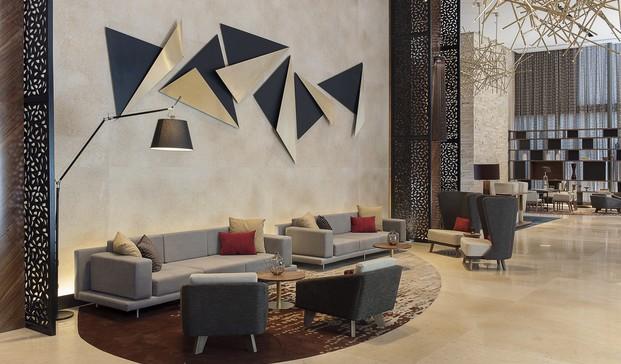 Interiorismo de lujo en Mxico Hotel Hilton Samara por