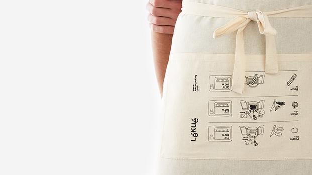 El nuevo packaging reutilizable de Lku obra de Nomon