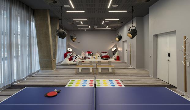 ping pong Radisson RED hotel millenial en ciudad del cabo diariodesign