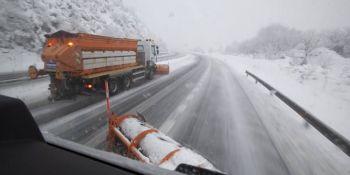 temporal frio y nieve, estado, carreteras,